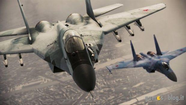 Ace Combat: Assault Horizon – nuove immagini sui caccia russi