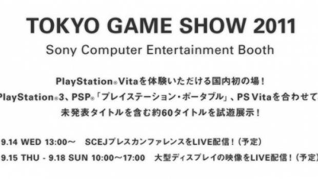 Sony apre il sito ufficiale del Tokyo Game Show 2011