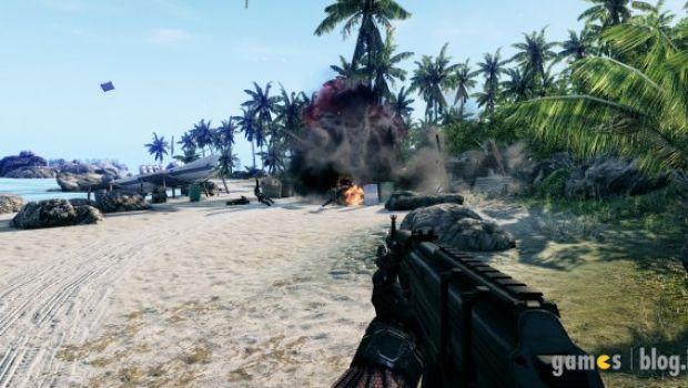 Crysis: prime immagini di gioco della versione per PS3 e X360
