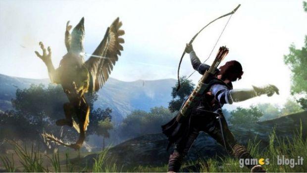 Dragon's Dogma: l'eroe senza nome va a caccia di grifoni in nuove immagini