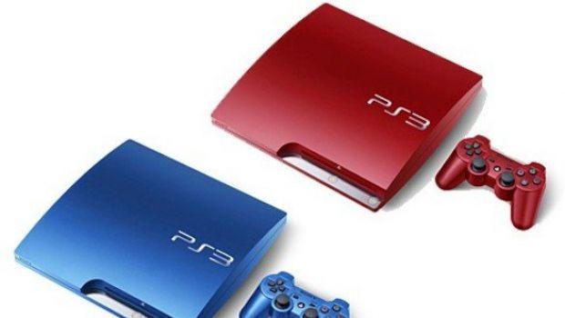 PlayStation 3 rosse e blu in arrivo in Giappone