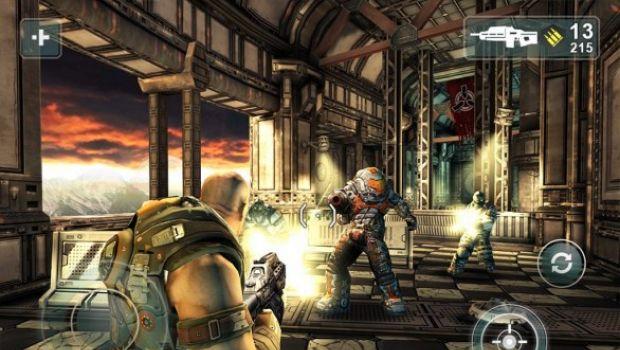 """Shadowgun: data d'uscita e immagini del """"Gears of War per piattaforme mobili"""""""