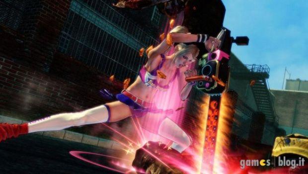[TGS 2011] Lollipop Chainsaw – nuove immagini tra cuoricini rosa, zombie famelici e cheerleader seminude