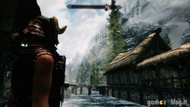 [TGS 2011] Elder Scrolls V: Skyrim filmato e fotografato su PS3