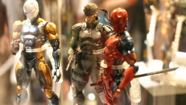 [TGS 2011] Le meravigliose action figures di Metal Gear Solid e Zone of the Enders in immagini
