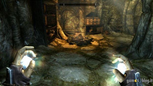 Elder Scrolls V: Skyrim – immagini a valanga dalla versione Xbox 360