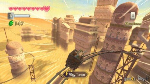 Zelda: Skyward Sword – acqua e sabbia in nuove immagini di gioco