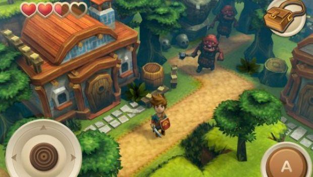 Oceanhorn: un nuovo clone di Zelda per iPhone e iPad – guarda le immagini