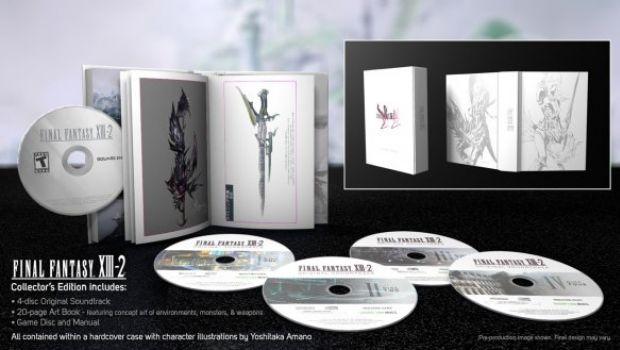 Final Fantasy XIII-2: dettagli sulla Collector's Edition