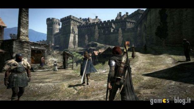 Dragon's Dogma: il castello di Gran Soren in nuove immagini