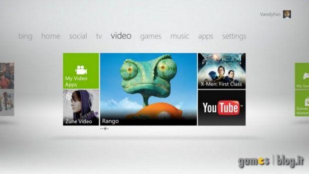 Xbox 360: confermati i 512MB di cloud storage con la nuova dashboard