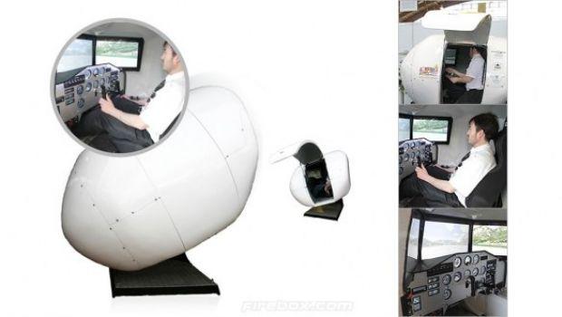 Un nuovo simulatore di volo (da 45.000€)