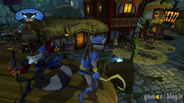 Sly Cooper: Thieves in Time in nuove immagini con Ninja Raccoon