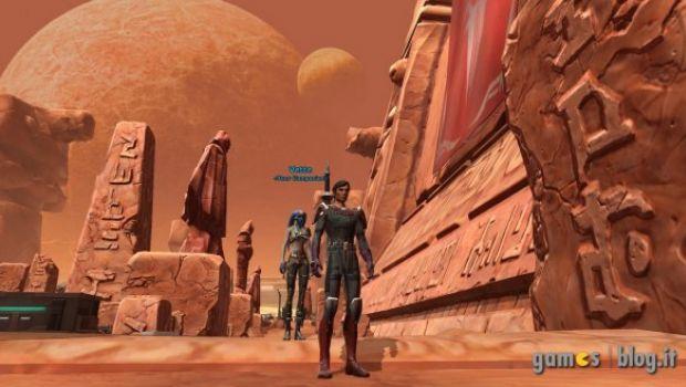 Star Wars: The Old Republic – i due lati della Forza si scontrano in foto