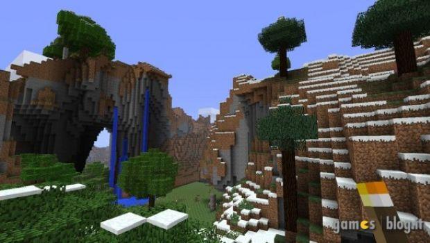 Minecraft: la versione Xbox 360 nuovamente filmata e fotografata