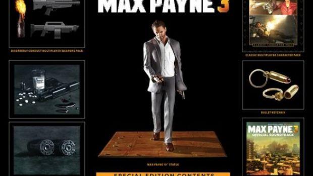 Max Payne 3: i dettagli della Special Edition