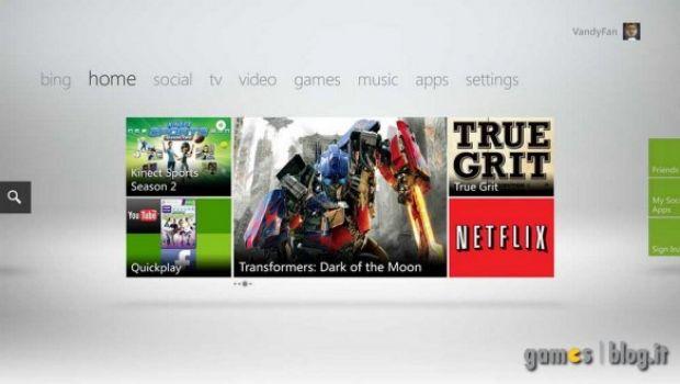 Xbox 360: la nuova dashboard NXE 2 ha una data