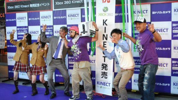 Kinect in Giappone: un anno dopo
