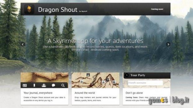 The Elder Scrolls V: Skyrim – presentata l'applicazione ufficiale per sistemi iOS e Android
