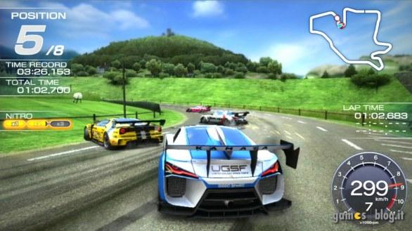 Ridge Racer Vita sfreccia in immagini e video