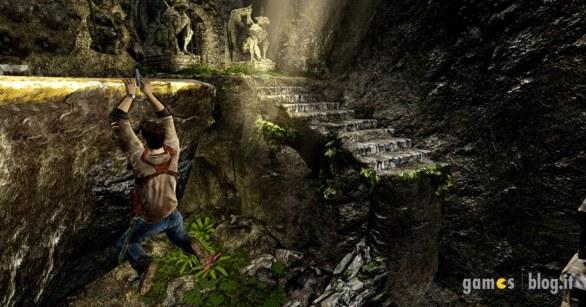 Uncharted: Golden Abyss – zio Nate esplora una grotta in immagini e video