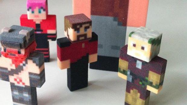 MineToys, statuette pixellose personalizzate per i fan di Minecraft