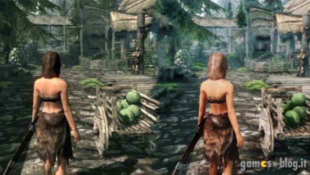 The Elder Scrolls V: Skyrim – la patch ENBSeries in immagini e video