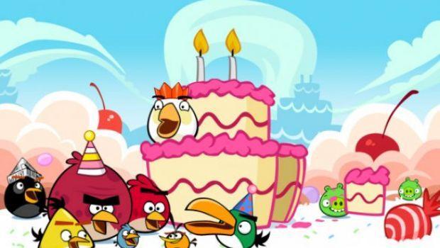 """Angry Birds celebra il proprio secondo """"Birdday"""" con nuovi livelli"""