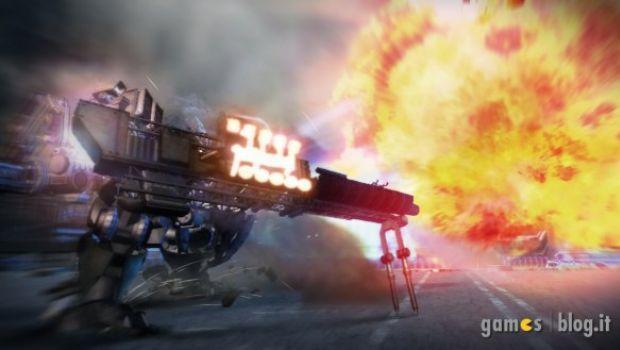 """Armored Core 5: nuove immagini di gioco """"esplosive"""""""