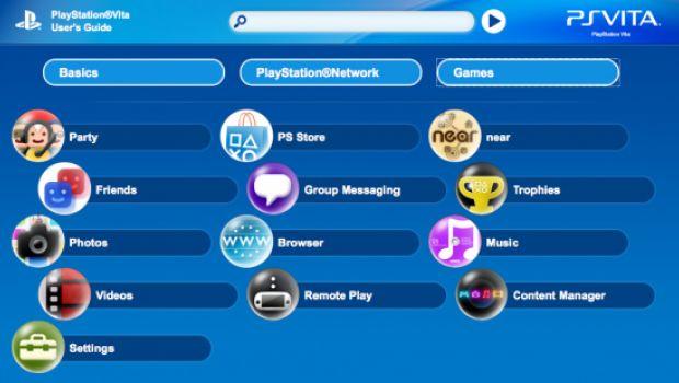 PS Vita: disponibile online il manuale d'uso della console