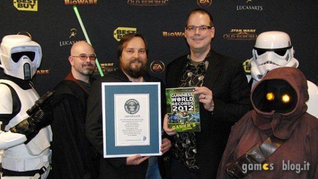 Star Wars: The Old Republic entra nel Guinness dei Primati