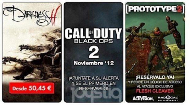 Call of Duty: Black Ops 2 previsto per novembre sui listini di un rivenditore spagnolo
