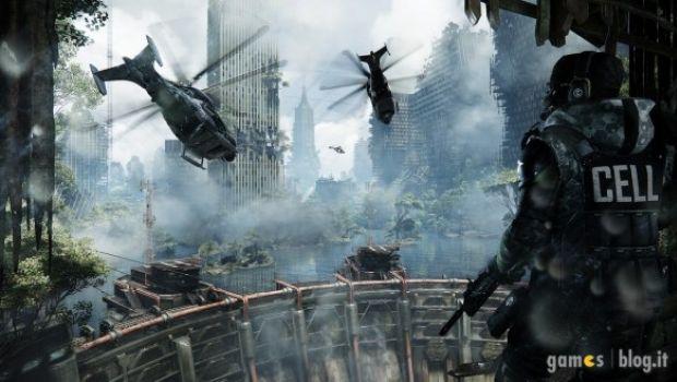 [E3 2012] Crysis 3: immagini di gioco e artwork sulla giungla di Liberty Dome
