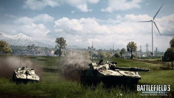 Battlefield 3: Armored Kill nuovamente filmato e fotografato