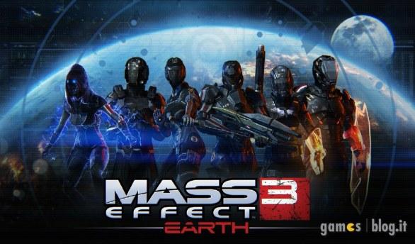 """Mass Effect 3: immagini e video sul DLC gratuito """"Earth"""""""