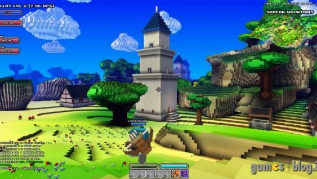 """Cube World: il multiplayer in nuove immagini """"pixellose"""""""