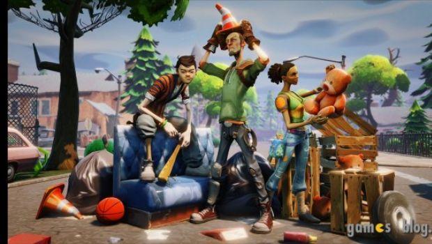 Fortnite: il primo gioco sviluppato con l'Unreal Engine 4 in nuove immagini