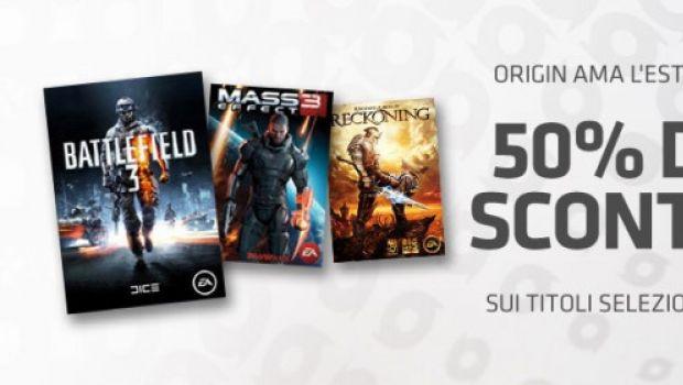 Origin ama l'estate: sconti del 50% sul negozio online di EA fino al 18 luglio