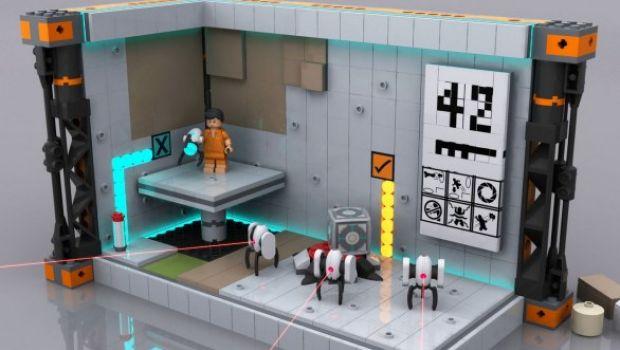 LEGO Portal 2: prime immagini
