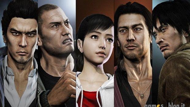 Yakuza 5: ancora immagini sui protagonisti e sui personaggi secondari