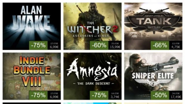 Steam Summer Sale giorno #8: Alan Wake a 6,99€ e The Witcher 2 a 15,99€
