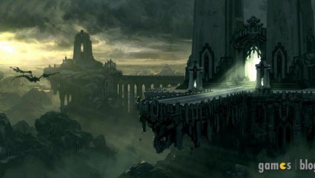Darksiders 2: immagini di gioco e artwork della Terra dopo l'Apocalisse