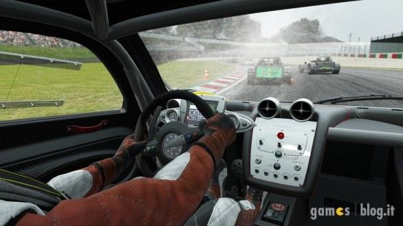 Project CARS: l'effetto pioggia in immagini e video
