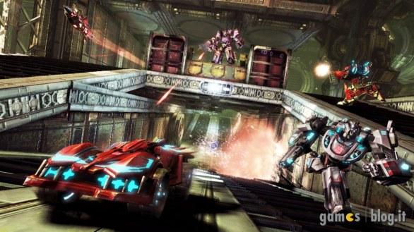 Transformers: La Caduta di Cybertron – immagini e video sul multiplayer