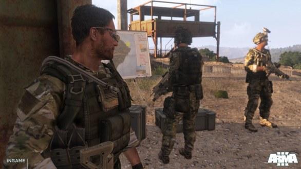 [Gamescom 2012] ArmA III: immagini e video dal campo addestrativo di Stratis
