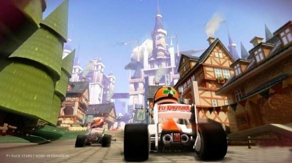 [Gamescom 2012] F1 Race Stars: l'esperimento arcade dei Codies sfreccia in immagini e video