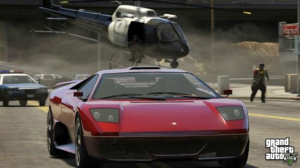 GTA V si mostra nuovamente in immagini