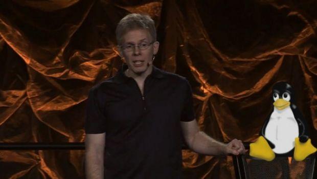"""QuakeCon 2012 – Carmack: """"Su Linux poca gente interessata a pagare per i giochi"""""""