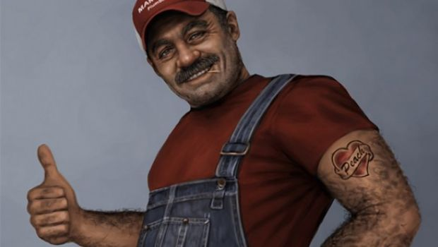 Un Super Mario (troppo) realistico