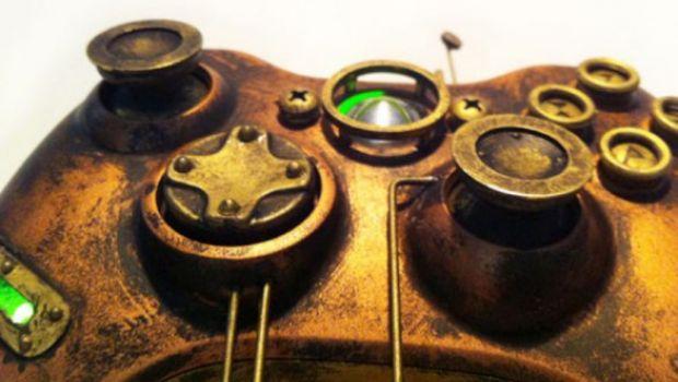 Un controller Xbox 360 in stile cyberpunk – galleria immagini